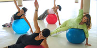 fitness fitball aerobic